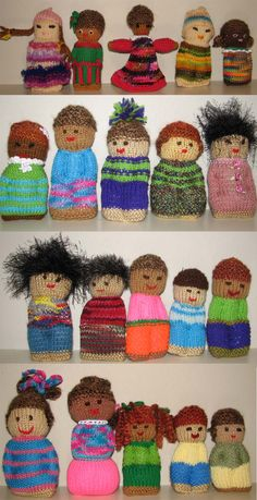 All these dolls arrived at my home last week!  Getting ready for packing into boxes for Operation Christmas Child next month.  These will be loved, made by loving women.