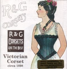 pictures from the 1890s - the Corset