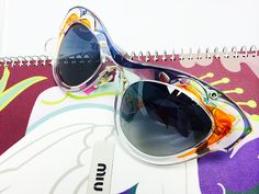 IN STORE AT CENTRAL PARK OPTICAL.  #love #wedding #summer #glam #bling #miumiu #gisele #vogue