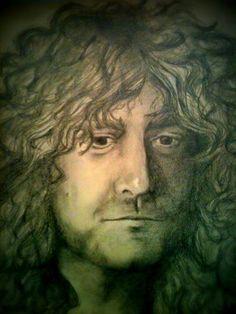 Robert Plant: Original artwork by Jana Freeman
