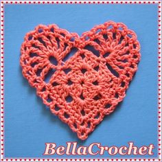 crochet pattern gratuito di cuore