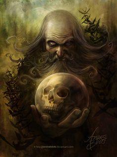 Wizard | Pintura Digital