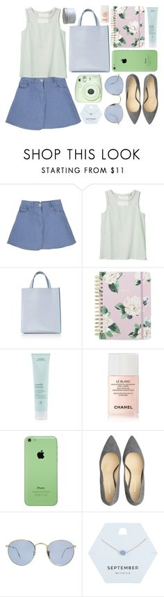 """Adorably"" by rheeee ❤ liked on Polyvore featuring Monki, Marni, ban.do, Aveda, Chanel, Oleg Cassini, Ray-Ban and Miss Selfridge"