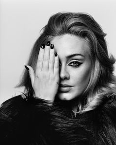 Adele photographed in London by Alasdair McLellan for i-D's cover story in The Here and Now Issue, Winter 2015.