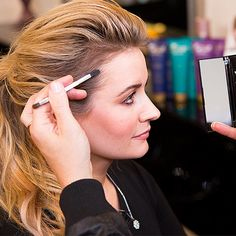 Grab Your Eye Shadow — It's the Key to the Perfect Ponytail: You know I love Ken Paves.