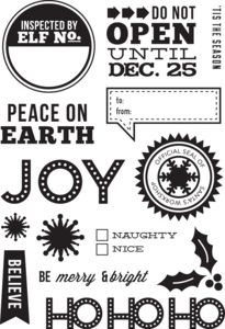 Simon Says Clear Stamps JOY Kelly Purkey Winter 2012, on my want list ...