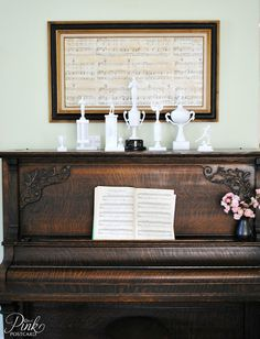 Take your Wedding song or just your favourite song and Make a beautiful large wall decoration!! Cool!!