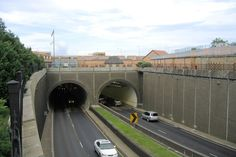 Wallace Tunnel, Mobile, Alabama. I-10 under the bay. Kinda scary. All I could think about was hoping it didn't cave in.