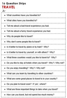 Travel - All Things Topics