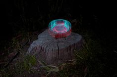 9 | Swirling Spirographs of Light, Made With A Turntable And LEDs | Co.Design: business + innovation + design