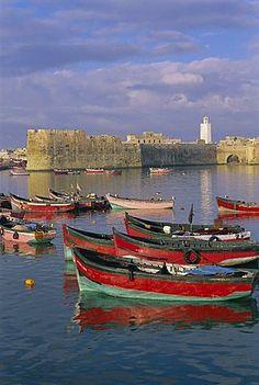 Old Portuguese city, El Jadida, Atlantic coast, Morocco, North Africa, Africa