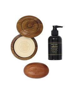 Caswell-Massey Sandalwood Shave Set, 3 Pack
