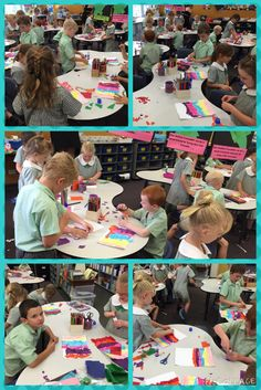 Busy little bees in Year 1.