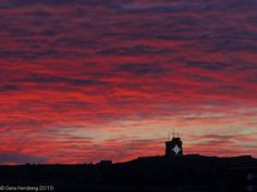 The last Signal Hill sunrise of 2015 (Submitted by Gene Herzberg)