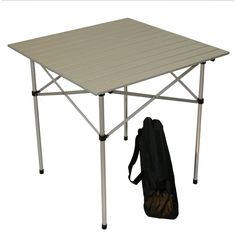 Color Portable Table in a Bag, Patio Furniture