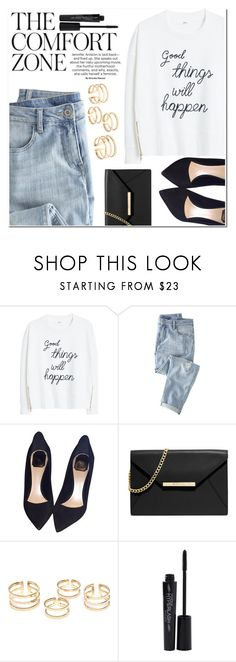 """""""Untitled #1371"""" by littledeath11 ❤ liked on Polyvore featuring MANGO, Wrap, Christian Dior, MICHAEL Michael Kors and Smashbox"""