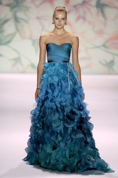 Stunning. LOVE the color. Please let me have the money and a reason for this gown