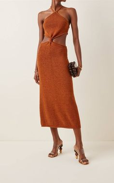 The 6 Spring 2020 Dress Trends That Are In and Out | Who What Wear Bad Fashion, Luxury Fashion, Fashion Trends, Knit Fashion, Gaia, Nice Dresses, Summer Dresses, Halter Dress Summer, Daytime Dresses