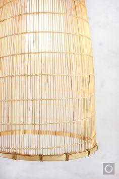 Bamboo Pendant Light Repurposed Fish Trap Pendant by OrientalBazar Bamboo Pendant Light, Basket Lighting, Ceiling Canopy, Metal Structure, Weaving Techniques, Oil Lamps, Decoration, Pendant Lamp, Repurposed