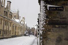 einbear:  Oxford, England.