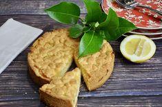 Easy Crustless Lemon Tart - Recipe Winners Lemon Dessert Recipes, Lemon Recipes, Tart Recipes, Pudding Recipes, Delicious Desserts, Hot Desserts, Cooking Recipes, Pudding Desserts, Pudding Cake