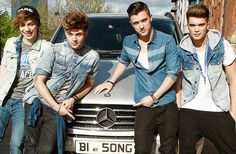 Outside in Manchester. Josh Cuthbert, George Shelley, Manchester, The Outsiders
