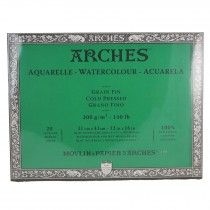 Arches Watercolour Block Cold Pressed 100 Cotton 20 Sheets