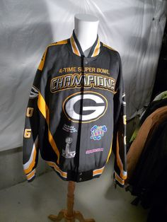 667fdc0044 Greenbay Packers 4 Times Superbowl Champion Twill Jacket - Collectors Item  Greenbay Packers, Motoros Dzseki. Greenbay PackersMotoros DzsekiAmerikai  Foci