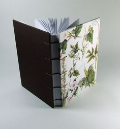 Coptic Bound Blank Journal Diary Notebook  by HighlandBooks