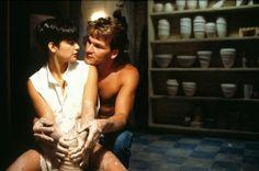 Ghost - Love Patrick Swayze, Demi Moore & Whoopi Goldberg in this movie! Ghost Movies, Sad Movies, Famous Movies, Ghost Film, Ghost Scene, Ghost Ghost, Best Romantic Movies, Romantic Movie Quotes, Romantic Scenes