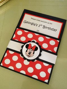 Handmade Black Red Minnie Mouse Party by be4Utifullyunique on Etsy, £5.99