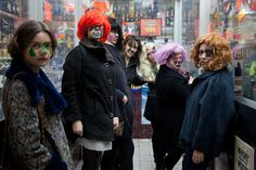 prostheticknowledge:  ANTI-SURVEILLANCE FEMINIST POET HAIR & MAKEUP PARTY This Tumblr blog which documents creative anti-surveillant fas...