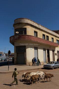 Italian Rationalism in Asmara, Eritrea