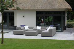 Outdoor Lifestyle exclusieve loungesets - Nieuwbouw villa Blaricum