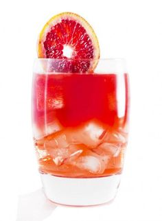 Belvedere Bloodsucker 1.5 oz. Belvedere Pink Grapefruit 1/2 oz. Campari Shake and strain into a rocks glass with cubed ice. Float 1.5 oz. Tru Blood on the surface and garnish with a blood orange wedge.