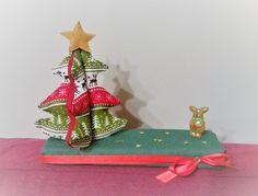 Sewn Christmas tree 3D