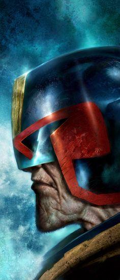 Judge Dredd by *Nick-Percival