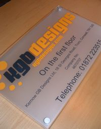 office door signs with logos - custom signs for office - music TV ...
