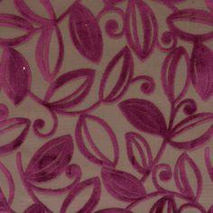 Mireya Fabric - Amethyst (EA033) - Wilman Interiors Ophelia Fabrics Collection