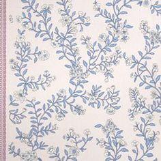 ISABEL - CHARLOTTE MOSS FABRICS - PERIWINKLE - Fabrics - Charlotte Moss - Fabric - Calico Corners