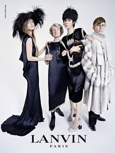 Edie Campbell's family affair for Lanvin - Telegraph