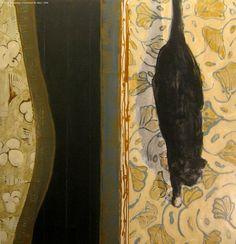 David Konigsberg. Farmhouse #6, Mary. Painting, oil on canvas, 2009.