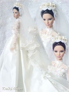 Looking for Collectible Barbie Dolls? Shop the best assortment of rare Barbie dolls and accessories for collectors right now at the official Barbie website! Barbie Bridal, Barbie Wedding Dress, Wedding Doll, Barbie Gowns, Barbie Dress, Barbie Clothes, Wedding Dresses, Barbie Doll, Manequin