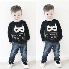 $5.51 (Buy here: https://alitems.com/g/1e8d114494ebda23ff8b16525dc3e8/?i=5&ulp=https%3A%2F%2Fwww.aliexpress.com%2Fitem%2FBoys-Sport-Clothes-Batman-Kids-Baby-Boy-Long-Sleeve-Jumper-Sweatshirts-Toddler-Kid-T-Shirt-Pant%2F32702078791.html ) Boys Sport Clothes Batman Kids Baby Boy Long Sleeve Jumper Sweatshirts Toddler Kid T-Shirt Pant Sets for just $5.51
