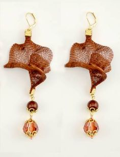 Fernando Dasilva/wire mesh earrings @Beadalon @CREATE YOUR STYLE with SWAROVSKI ELEMENTS