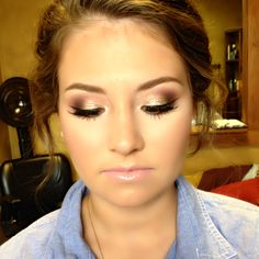 Homecoming makeup @Sarah Chintomby Chintomby Chintomby Mason