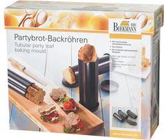 Tubular party loaf baking mold - by Birkmann Baking Pans, Kitchen Tools, Kitchenware, Party, Easy Meals, Shapes, Firenze, Gadgets, Bakken