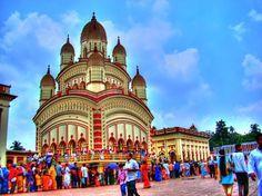 Dakshineshwar Temple in Kolkata, West Bengal