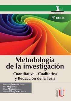 Metodología de la investigación cuantitativa - cualitativa y redacción de la tesis: 4a. Edición on Scribd