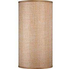Filament Design Lenor Basket Weave Wall Sconce Shade - The Home Depot Led Wall Sconce, Wall Sconces, Linen Baskets, Rectangular Lamp Shades, Wall Lights, Ceiling Lights, Drum Shade, Light Shades, Basket Weaving